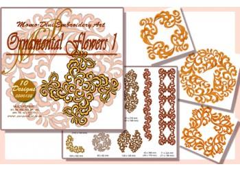 CD - Ornamental Flowers 1